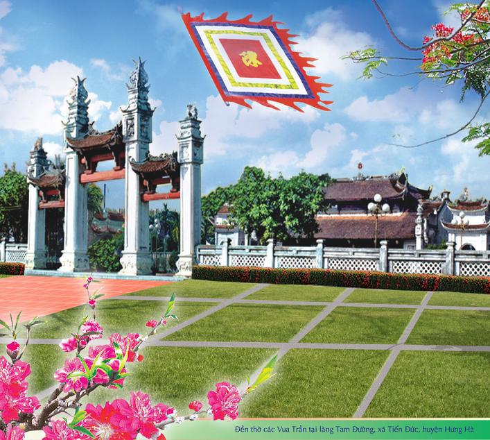 dentranthaibinh, Đền Trần Thái Bình, Đền Trần, Lăng Mộ Đền Thờ Các Vua Trần, den tran thai binh